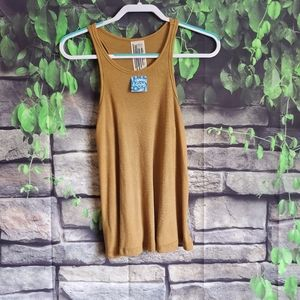 Free People Ribbed Tank Top Size XS